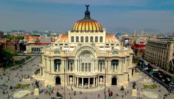 Blick auf Mexiko-Stadt