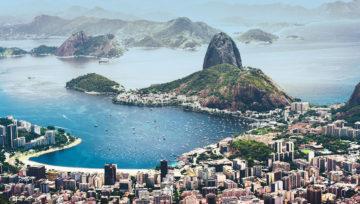 Panorama von Rio de Janeiro